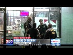 Masked men shoot N. Houston corner store owner
