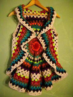 RESERVED FOR EVA Mandala Gypsy Vest Custom Order by OliviaRoyale