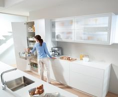 Make your kitchen practical: Divide your kitchen into 5 zones... Zone 1: Consumables - when planning this zone it's important to ensure everything's within easy reach! Find out more at http://www.blum.com/gb/en/03/10/10/
