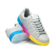 Dámské tenisky duha Módní tenisky, barevný podrážka, pohodlné každý den. Nejlepší obuv za nejlepší cenu. Atraktivní styly a modely pro každou ženu. http://cosmopolitus.eu/product-cze-94767-DAMSKE-TENISKY-RAINBOW.html #Damske #botynatenis #tenisky  #slipon #levne #sporty
