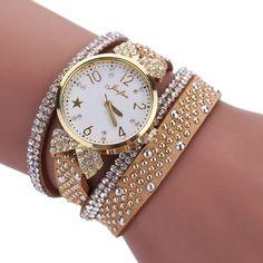 Dresses Rhinestone Watch 2017 New Luxury Brands Quartz-watch Fashion Ladies Crystal Bracelet Watch Hot Clock Women Watches Gift