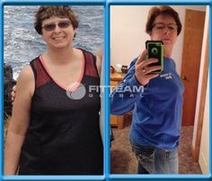 """I started FITTEAM FIT in July but started slow. After a week, I followed the meal plan and went for it. To date, I have lost 23 lbs and down 3 clothing sizes!! I did no excersizing other than my daily routine. As far as my eating, I make better choices and less of it. I learned that I didn't have to clean my plate."""" -Pauline Voge"""