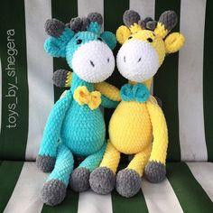 НОРКА ХОМЯЧКА | VK Giraffe Crochet, Crochet Animals, Crochet Animal Patterns, Stuffed Animal Patterns, Newborn Toys, Blanket Yarn, Plush Pattern, Crochet Books, Chenille