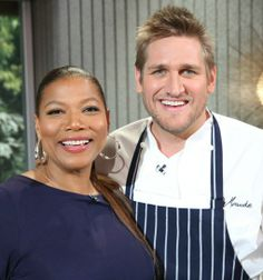 Curtis Stone and Queen Latifah on The Queen Latifah Show