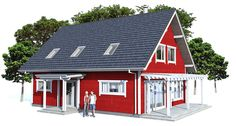 Small house plan, affordable building budget,  three bedrooms, two bathrooms, open planning