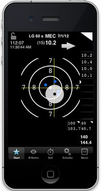 MEC release an app for logging target shooting performance