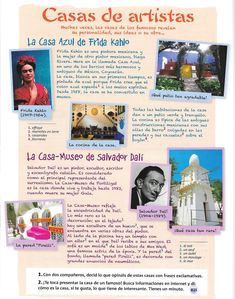 Casas Frida y Dali