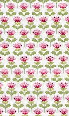 Tilda Fabric - Molly Pink