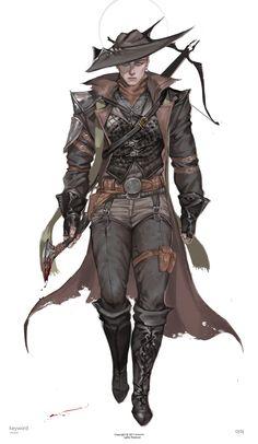 ArtStation - archer concept, _ MOOWM _