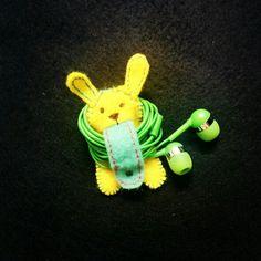 Lil' Bunny Earphones Organizer @ Rs. 149