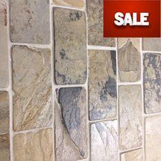 Slate Tile - 2x4 Indian Autumn