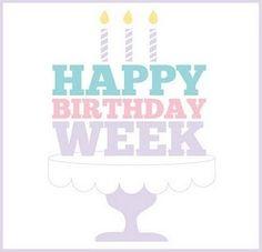 birthday week March 8th!!!