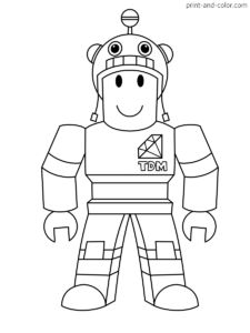 destiny roblox coloring pages a robot of hello unk on