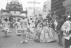 A Xica da Silva de Isabel Valença no desfile de 1963 Desfile da Escola de samba Salgueiro