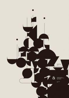 Typographic poster design by Aron Jansco Illustration Design Graphique, Illustration Inspiration, Art Graphique, Graphic Design Inspiration, Digital Illustration, Graphisches Design, Layout Design, Cover Design, Logo Design