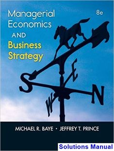 30 best solutions manual download images on pinterest managerial economics and business strategy 8th edition baye solutions manual test bank solutions manual fandeluxe Images