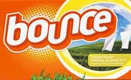 Bounce- 1. It will chase ants away when you lay a sheet near them. It also repels mice. 2. Spread sheets around foundation areas, or in trailers, or cars that are sitting and it keeps mice from entering your vehicle. 3. It takes the odor out of books and photo albums that don't get opened too often. 4. It repels mosquitoes. Tie a sheet of Bounce through a belt loop when outdoors during mosquito season. 5. Eliminate static electricity from your television (or computer) screen. 6. Since Bounce…