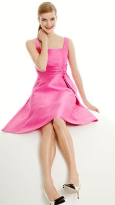 Kate Spade New York Pink Bow Dress