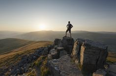 Sugar Loaf MountainSugar Loaf Mountain, Brecon Beacons, WalesThe Brecon Beacons are renowned for their wide open spaces and stunning vistas. From the top of Sugar Loaf Mountain you have views of mid Wales in one direction and south west England in the other. More info