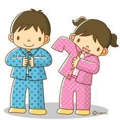 We got new pajamas.