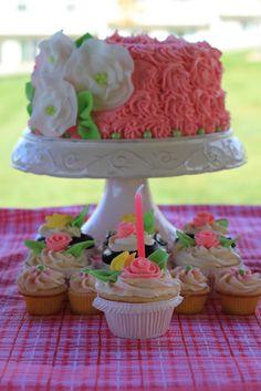 LITTLE GIRL BIRTHDAY CAKES IMAGES | Little Cuppa Tea: Stella Rose Birthday Cake