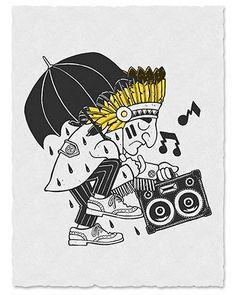 Mark Ward Studio graphic- rain dance image