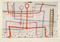 """A line is a dot that went for a walk."" Paul Klee ––––– 'Pas de Deux', 1935 By © Paul Klee Paul Klee, Willem De Kooning, Franz Kline, Jean Michel Basquiat, Alphonse Mucha, Dark Fantasy Art, Henri Matisse, Pablo Picasso, Social Art"