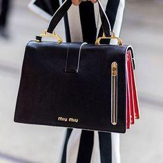 moniquedelapierre: Miu Miu❤️ via @elleaus - Miss Zeit. bag, сумки модные брендовые, bags lovers, http://bags-lovers