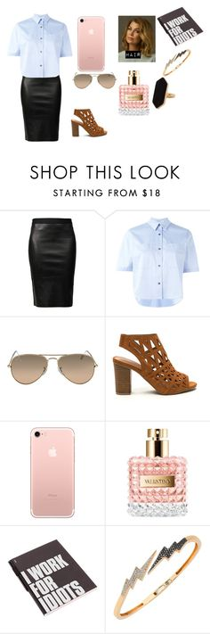 """""""Untitled #197"""" by blue-black ❤ liked on Polyvore featuring Helmut Lang, T By Alexander Wang, Grey's Anatomy, Valentino, Nuuna, Bee Goddess and Jaeger"""