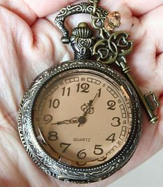 Pocket watch Locket Necklace
