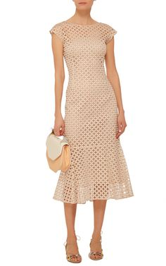 Sleeveless Shift Dress by LUISA BECCARIA Now Available on Moda Operandi