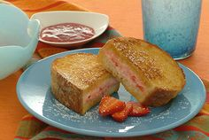 Stuffed french toast on a kidney diet? You bet! Prep the night before for a delicious and easy brunch! This tasty dish is also diabetes-friendly.