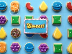 Candy crush cookie tutorial: www.sweetambs.com/tutorial/candy-crush-cookies-video-tuto...