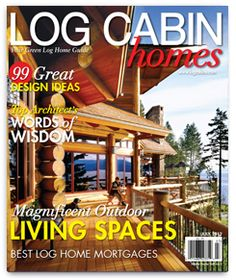 1000 images about articles of interest on pinterest log for Log home magazines