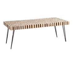 Mesa de centro en madera de abeto Trunks - natural
