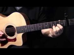 """how to play """"Norwegian Wood"""" on guitar by The Beatles acoustic guitar lesson tutorial - YouTube"""