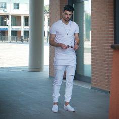 Look inspiração para all white
