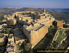 The Cittadella,  Victoria, island of Gozo, Malta....    http://www.templar-quest.com   ...    The Cittadella, or Citadel, is a small fortified city and citadel. In the Medieval era it was known as the Gran Castello. In the fifteenth century, during the rule of the Crown of Aragon, the city's fortifications were strengthened. Malta later came into the possession of the Knights Hospitaller (1530–1798) after they had been expelled from the Holy Land and then from Rhodes (1310–1523).