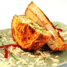 Francia reggeli Recept képpel - Mindmegette.hu - Receptek Baked Potato, French Toast, Muffin, Turkey, Food And Drink, Baking, Breakfast, Ethnic Recipes, Table