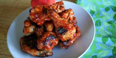 For a light zesty snack or a swingin' spicy meal, try Peach Sriracha Chicken Wings. A quick homemade sauce with peaches and sriracha makes all the difference and adds fresh sweet and spicy flavor to