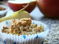 BWL Rezept Frühstücks Apfel Haferflocken muffins