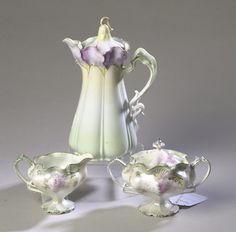 #RS Prussia Tea Set