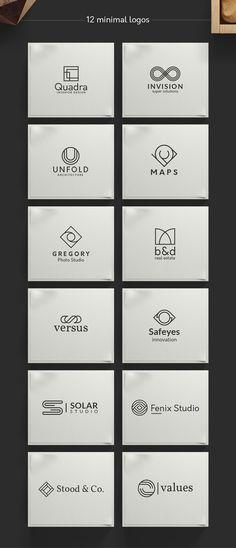 Geometric Logos vol.1 by Davide Bassu