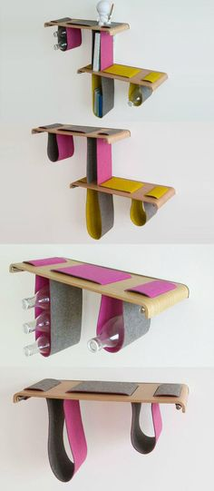 Boa Shelf by Tuyo Design Studio