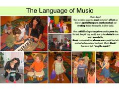 The language of Music. http://pinterest.com/kinderooacademy/learning-through-play/ ≈ ≈