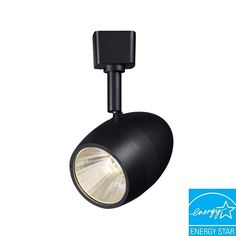 Black LED Dimmable Hampton Bay Lighting Fixtures