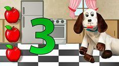 Hola Toby - Aprendiendo el Número 3 - Melodías para Dormir y Relajar - E...