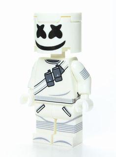 Marshmello Mini Figure Legendary Epic Battle Royale Game UK Seller PS4 XBOX