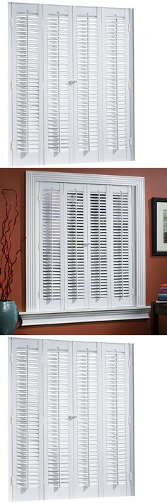 Shutters 66799: Allen + Roth Colonial White Faux Wood Interior Shutter  31 In To