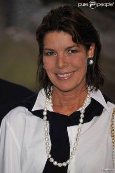 Caroline de Monaco lance la Monaco Classic Week-La Belle Classe. 14 septembre 2011